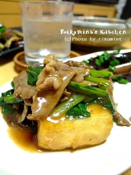 DSCF6・3豆腐のステーキ