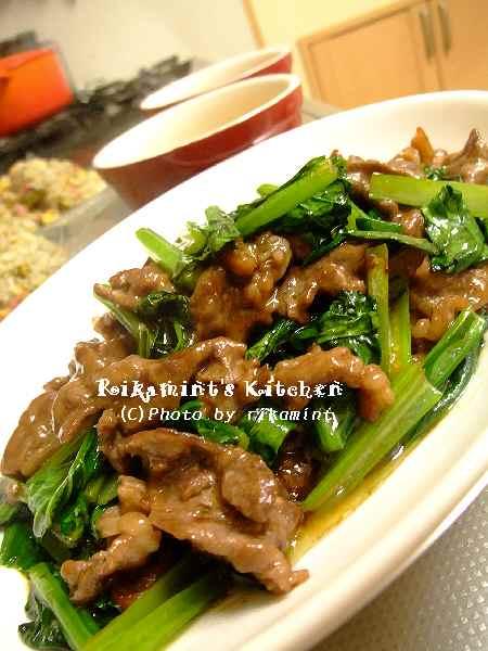 DSCF6・7牛肉のオイスター炒め (2)