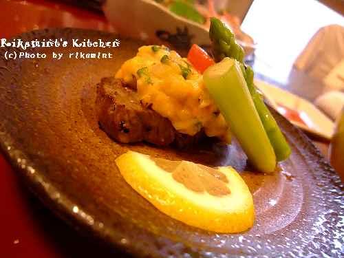 DSCF懐石8焼き物お肉