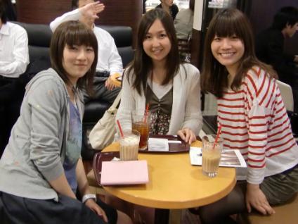 彩乃、葉子さん、純