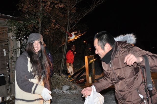 2009年越しキャンプ