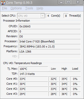 3.66GHz 18.9℃ AS-05