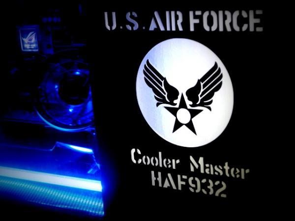 U.S.Air Forceステンシルステッカー