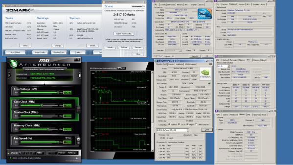 3DMark06 GTX460 CPUGPUOC