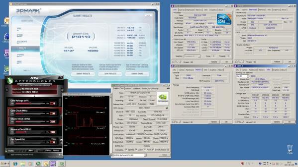 【18119】MSI920 CPU定格GPU定格 室温14.3℃