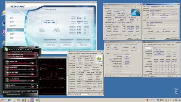 【21015】MSI920 CPU定格GPU920MHz 室温14.4℃
