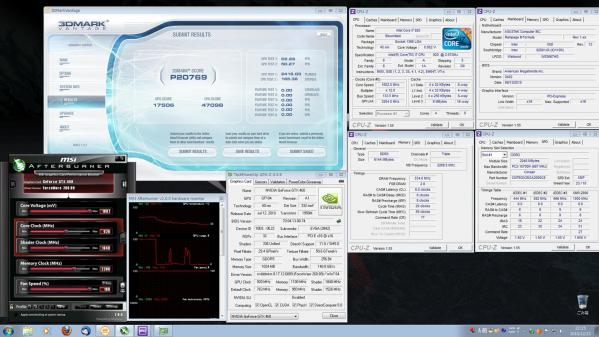 【20769】EVGA920 CPU定格GPU920MHz 室温17.2℃