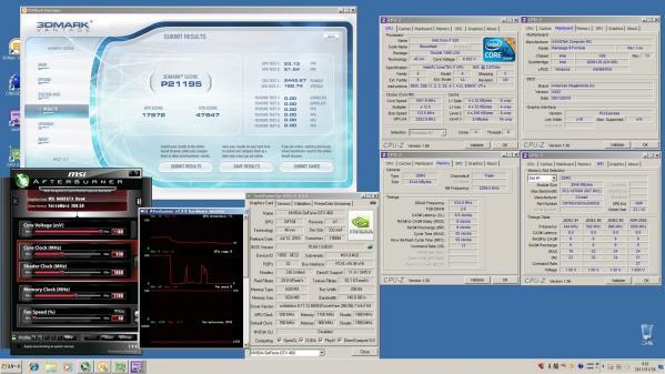 【21195】MSI920 CPU定格GPU930MHz 室温11.4℃