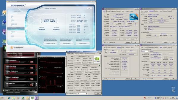 【28145】EVGAMSI CPU定格GPU定格 室温16.2℃