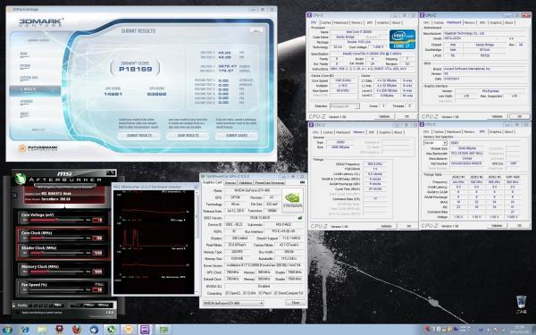 【18169】MSI2600K CP定格 GPU定格 室温15.2℃
