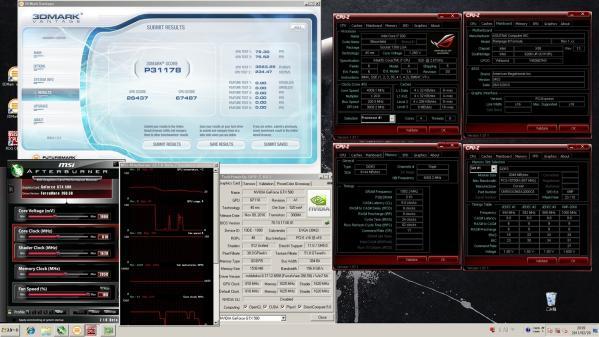 【31178】GTX580 CPU4.0GHz GPU810MHz(定格)