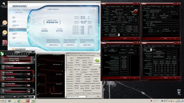 【34314 】GTX460 CPU4.0GHz GPU850MHz