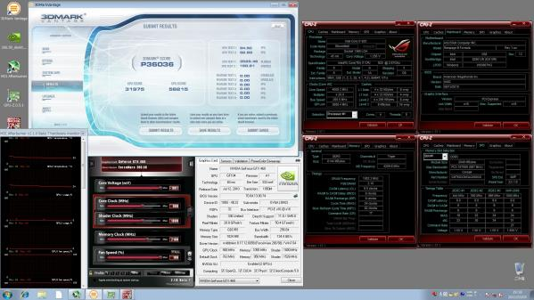 【36036】GTX460SLI CPU4.0GHz Core900Mem2100