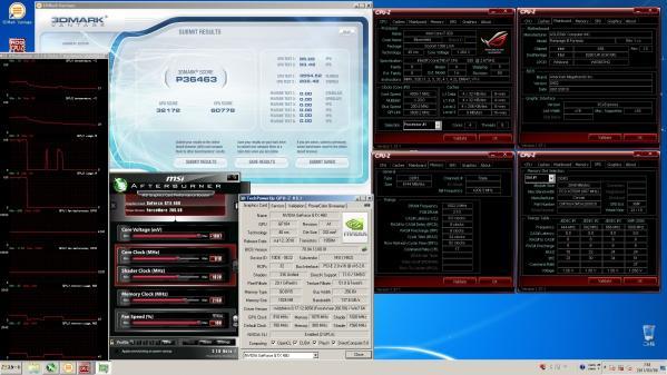 【36463】GTX460SLI CPU4.0GHz GPU910MHz