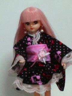 姫浴衣リカちゃん