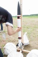 PLANET-Qモデルロケット