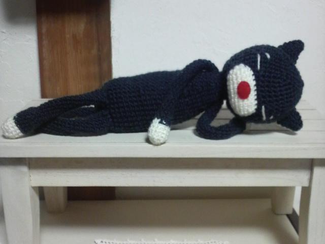 編みねこくん1