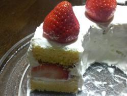 ケーキその後