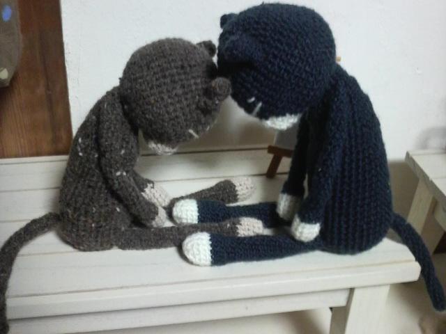 編みねこ兄弟1