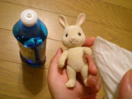 人形クリーニング2
