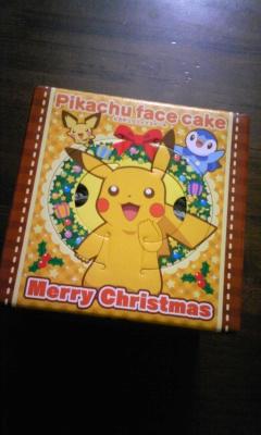 クリスマスポケモンケーキ1
