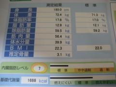 体脂肪8月