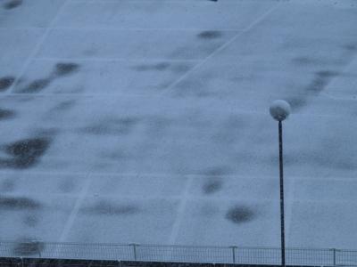 雪の大晦日@会津若松市