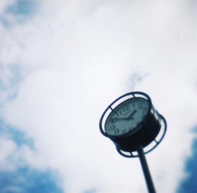 時計と空@小田山公園