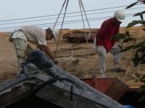 屋根葺き替え3