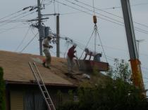 屋根葺き替え4