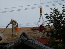 屋根葺き替え2