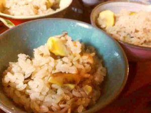 091013ベラパーティ・栗ご飯