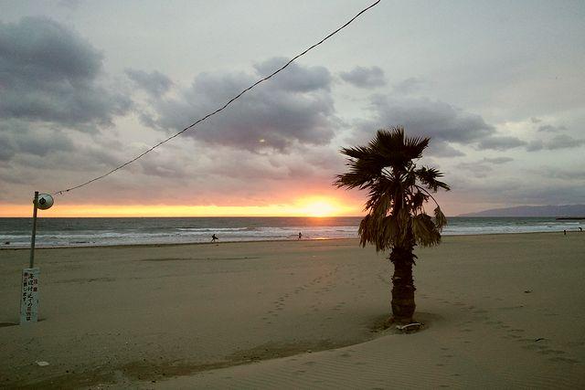 年末sunset