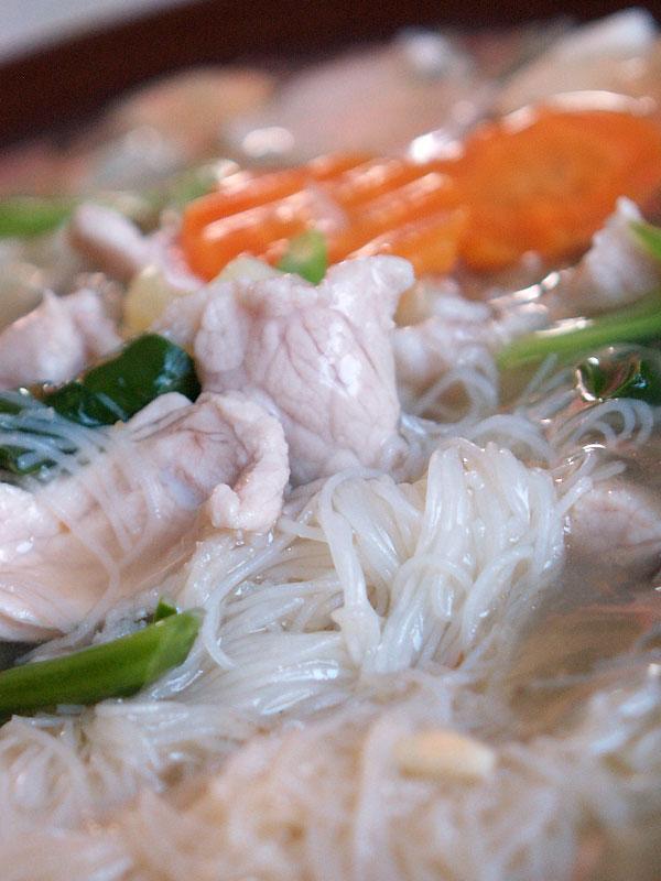 餡かけビーフン(細麺・センミー)