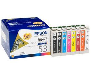 EPSON IC8CL53 (8色パック)