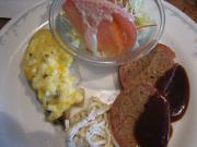 ミートローフベーコン巻&白身魚のタルタルソース焼き()