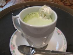 緑茶オーレです。
