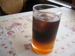 夕陽のアイスコーヒー()
