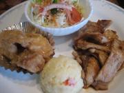 豚の生姜焼き&魚の南蛮漬()