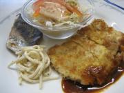 豚ロースカツレツ&サワラの味噌焼()