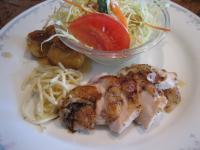 チキンローストバルサミコソース&赤魚の唐揚げ(
