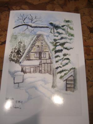 2011 4後半 中村様絵画展の絵ハガキ()