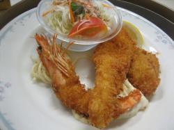 ミックスフライ(海老・ホタテ・白身魚))