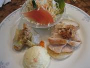 若鶏と大根ソテーレモン風味&ツナと野菜の春巻揚げ