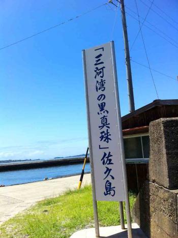 佐久島 三河湾の黒真珠
