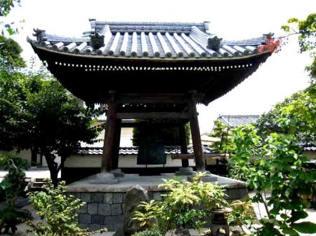 久国寺 鐘 引き写真