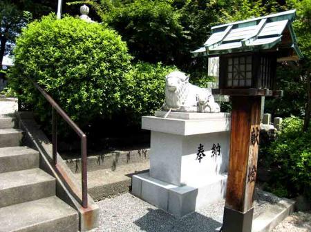 羊神社のひつじ