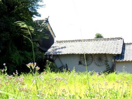 道風博物館 近辺の古い家