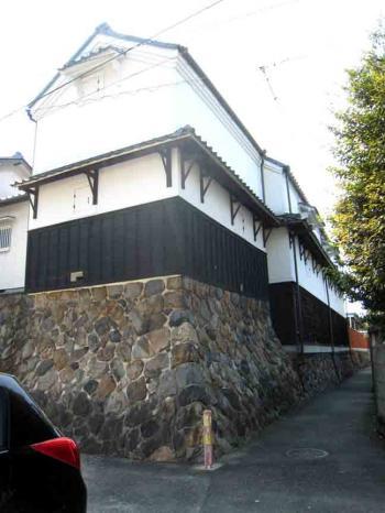 高牟神社周辺 水屋