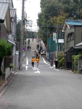 南山学園への坂道2